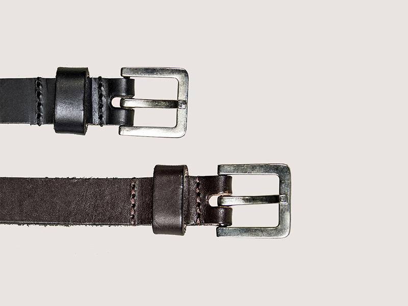 Thin Buckle Belts