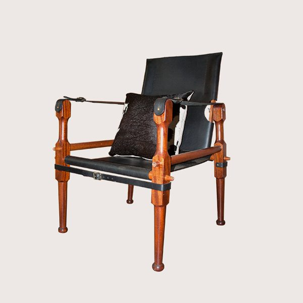 Campaign Chair Leather