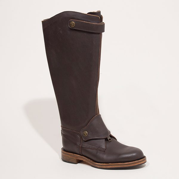 Men's Polo Boot - Zip-Up