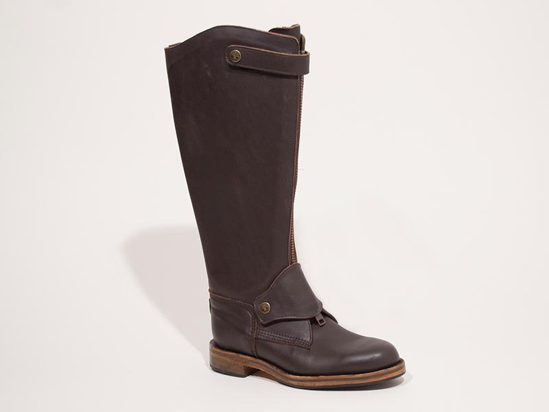 Men's Polo Boot - Zip-Up