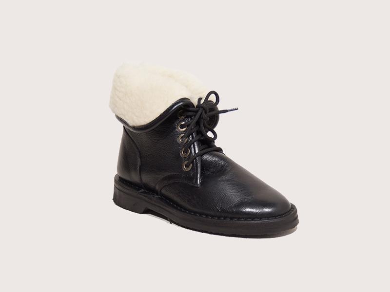 Wool Pixie Boot